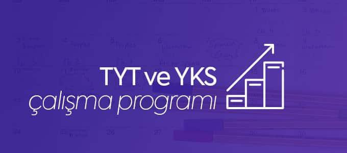 YKS çalışma programı
