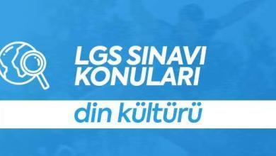 LGS Din Kültürü Konuları