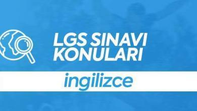 LGS İngilizce Konuları