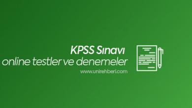 KPSS Online Test ve Deneme Çöz
