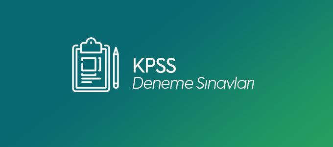 KPSS Online Deneme Sınavları