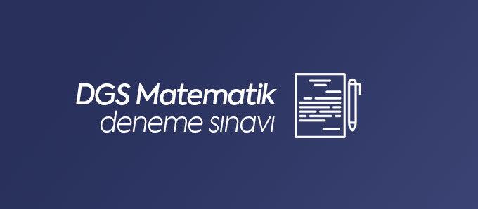 DGS Matematik Deneme Sınavları
