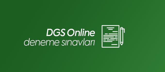 DGS Online Deneme Sınavları