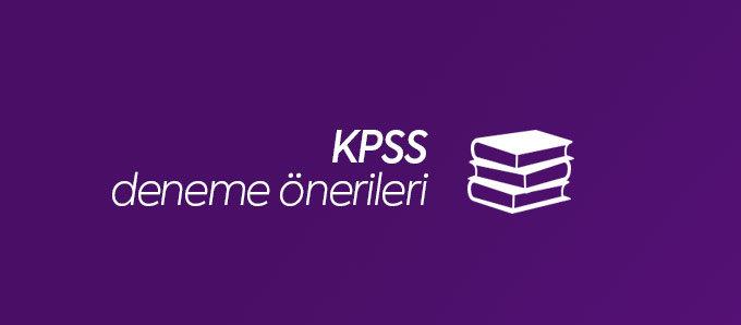 KPSS Deneme Önerileri