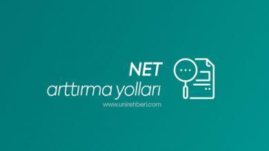 NET Arttırma Yolları