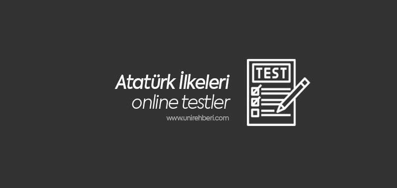 Atatürk ilkeleri test