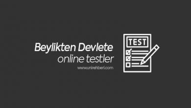 Beylikten Devlete Test