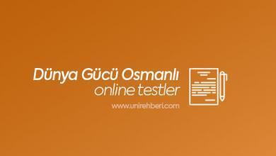 Dünya Gücü Osmanlı Devlete testleri