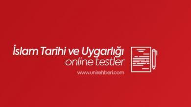 Online İslam Tarihi ve Uygarlığı testler