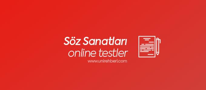 Online Söz Sanatları Testleri