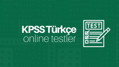 KPSS Türkçe Soru Çöz